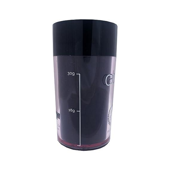 Caboki - Fibras capilares auténticas para disimular la pérdida de cabello, 30 g, color negro: Amazon.es: Belleza