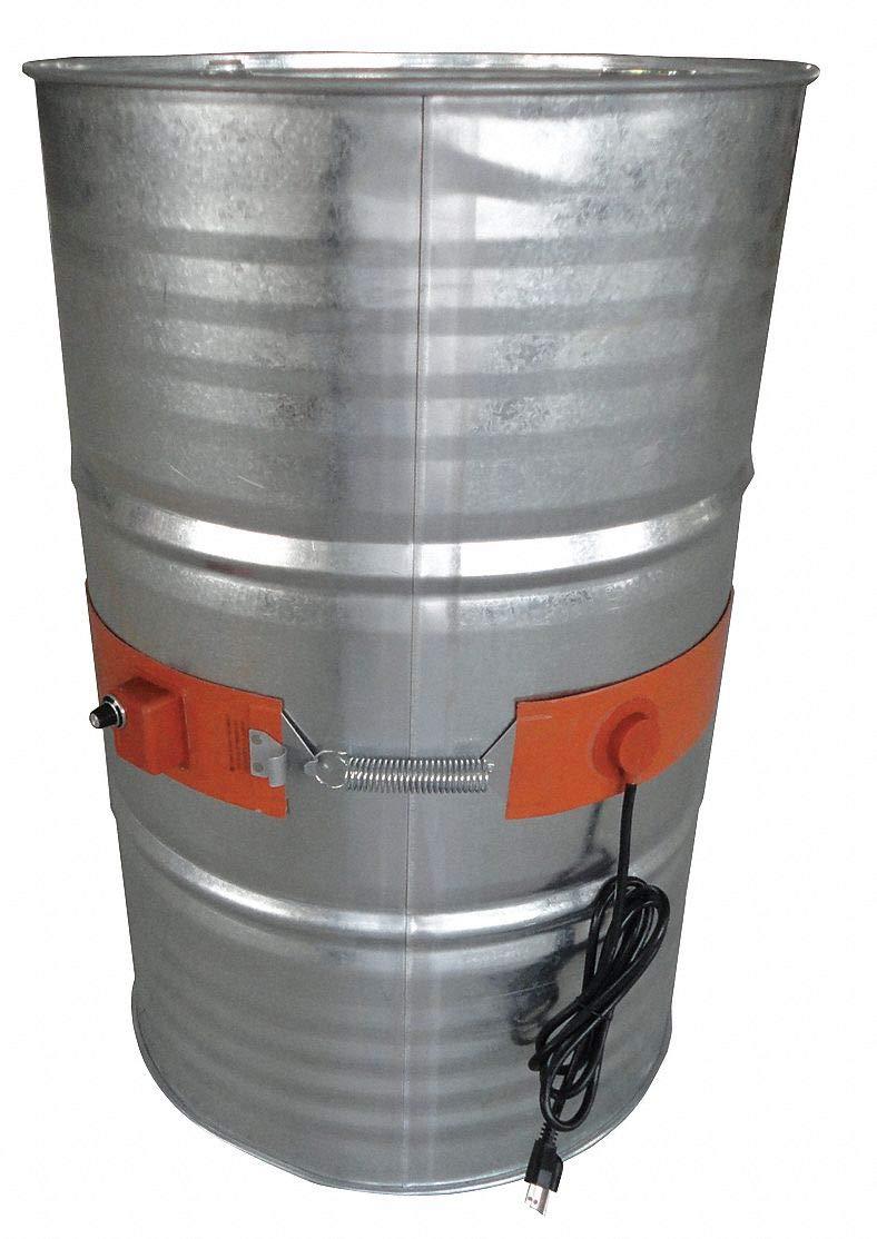 Drum Heater, Elec, 2.6A, 115V, L32 1/4In