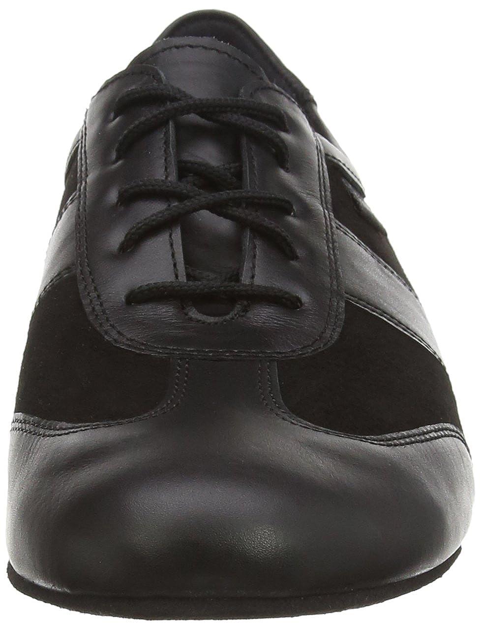 Wide - H Width 9 W US Wedge Heel 8.5 UK Diamant Mens Model 123 Dance Sneaker- 1 2.5 cm