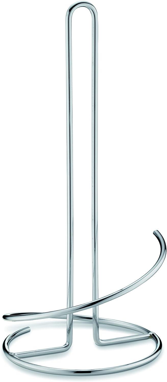 Caro 33 cm H/öhe Kela 12238 K/üchenrollenhalter Metall verchromt