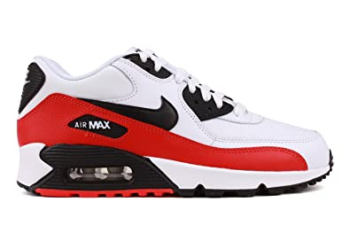 official photos dad10 b9aa0 Nike Air Max 90, EU 39 Farbe Rot Schwarz Weiß