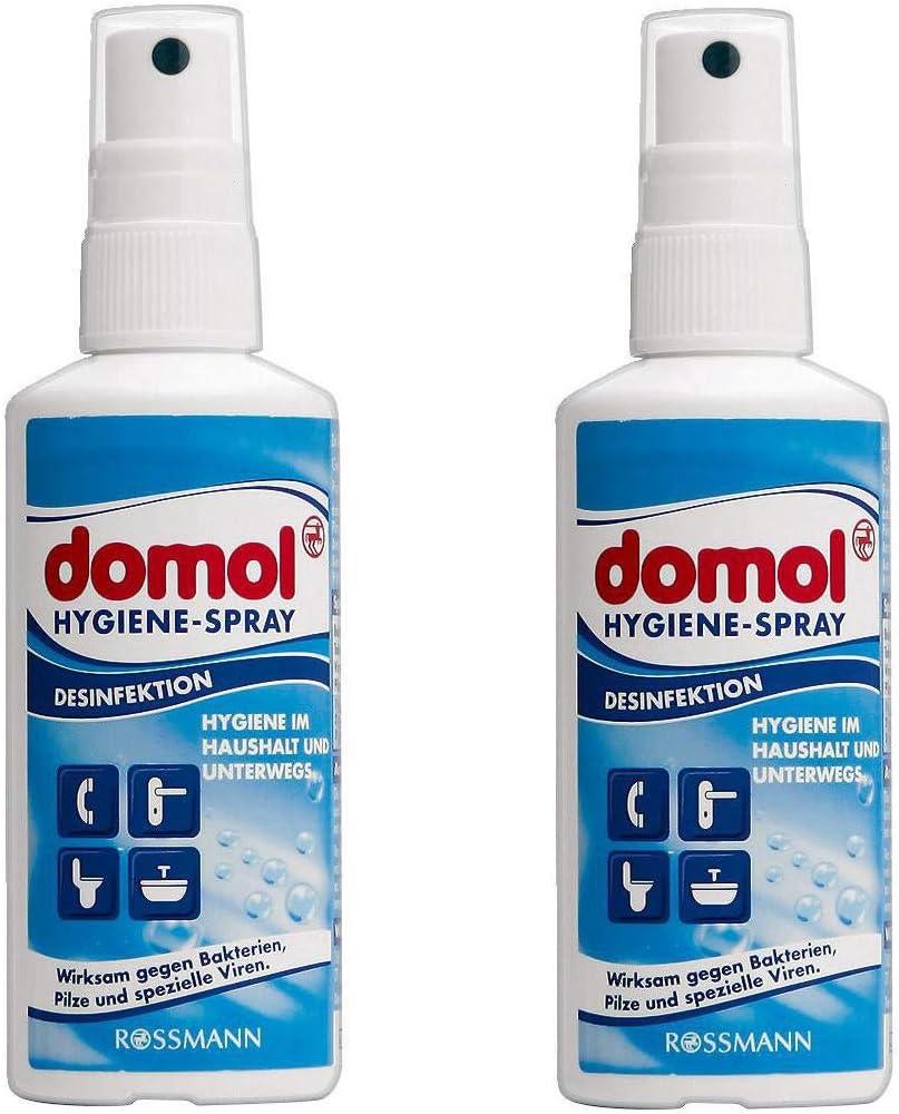 Domol Desinfektionsmittel 2x 100ml Desinfektionsspray