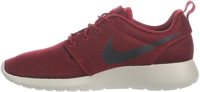 Piñón General saltar  Amazon.com | Nike Men's Roshe One Team Red/Black/Bordeaux/Pale Grey Nylon  Running Shoes 11.5 D US | Road Running