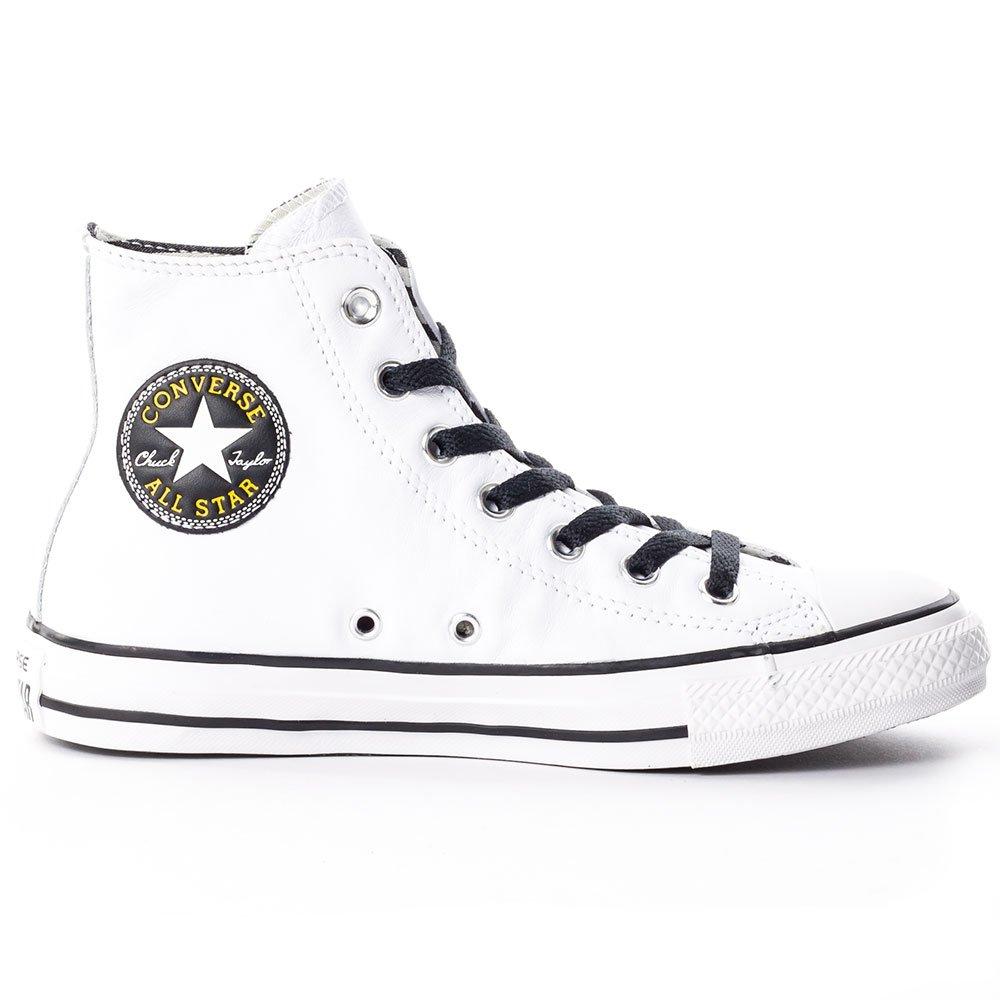 Converse Hightop Turnschuhe weiß weiß weiß gelb EU 41 7a6866
