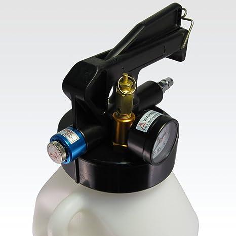 Ajuste Herramientas 8.5L dos manera neumático Motor Gear aceite y líquido Extractor con 2pcs manguera Set: Amazon.es: Bricolaje y herramientas