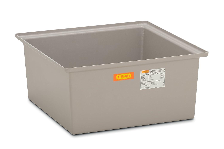 CEMO 5113 GFK-Auffangwanne grau 150 L