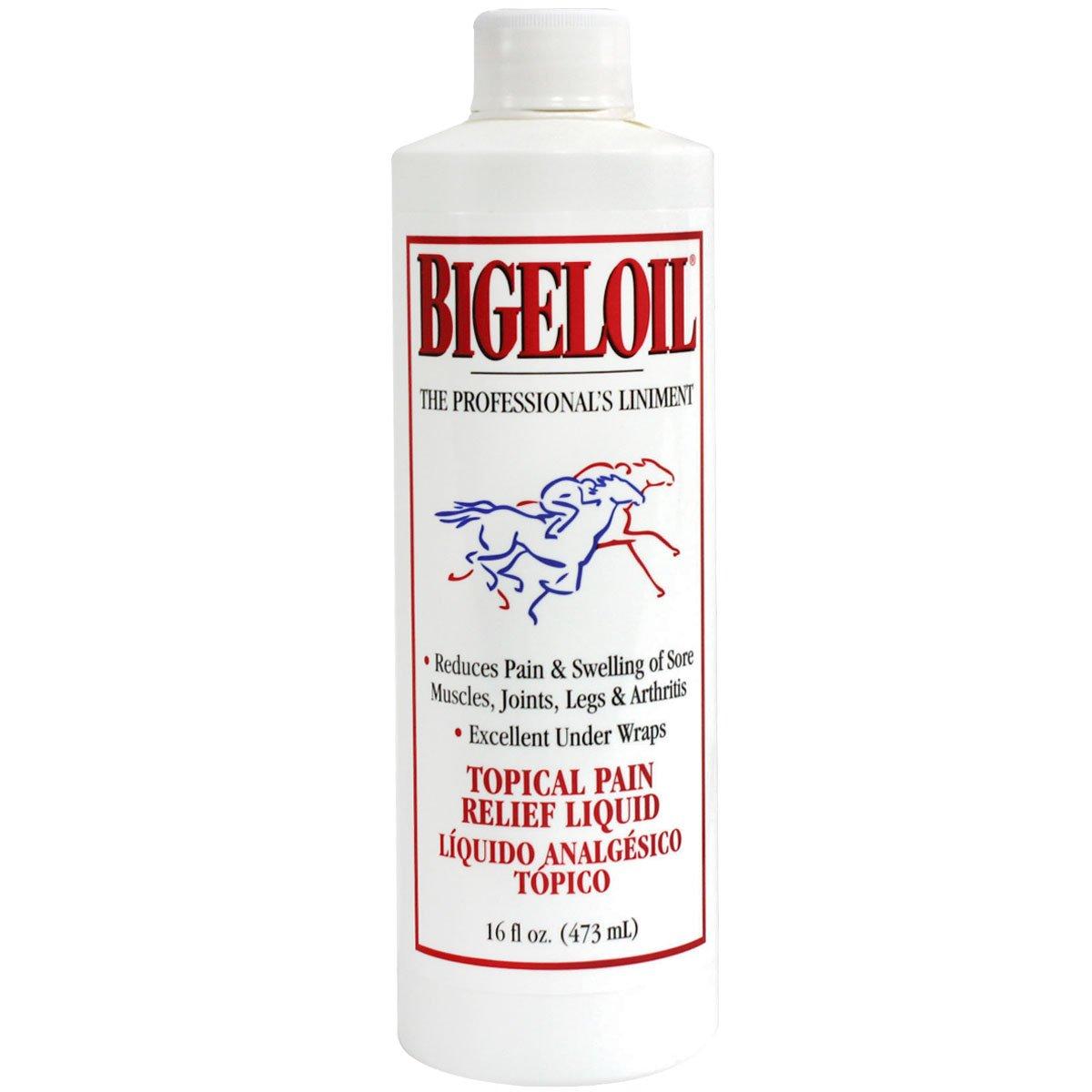 Bigeloil Absorbine Liniment 32 oz QT LIQUID Rub Pain Relief Sore Muscles Joints Arthritis Horse Sheep Cows