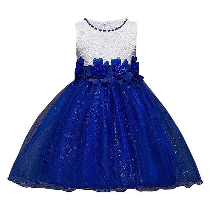 51db7e53785f Beauty Top Vestito Abito Fiore Principessa Costume Ragazza frozen Bambina  Carnevale Tulle Diadema Cosplay Compleanno Abito
