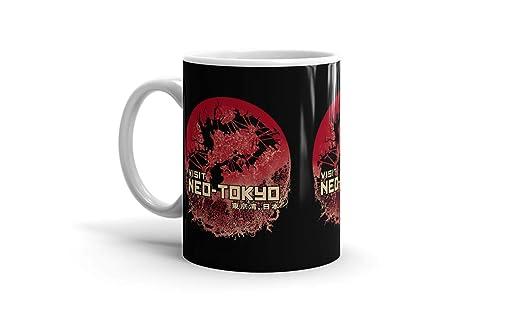Amazon.com: Ceramic Coffee Mug Japanese Comic Cup Visit ...