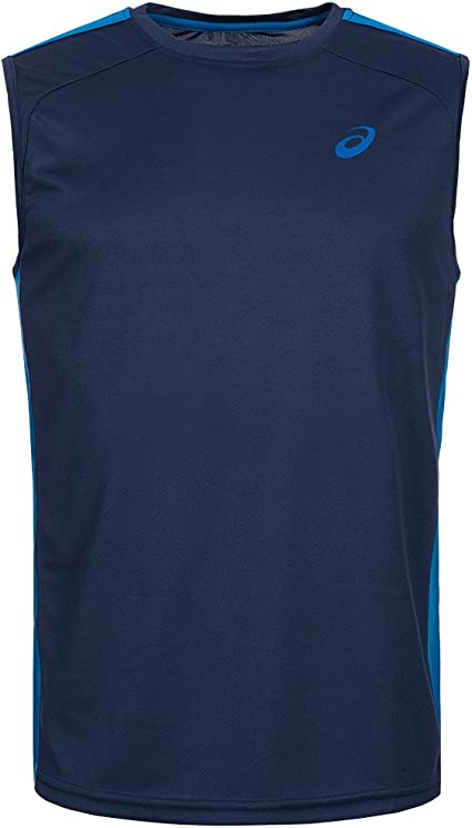 ASICS Herren Running Shirt Sleeveless Tank Top Tee 130804