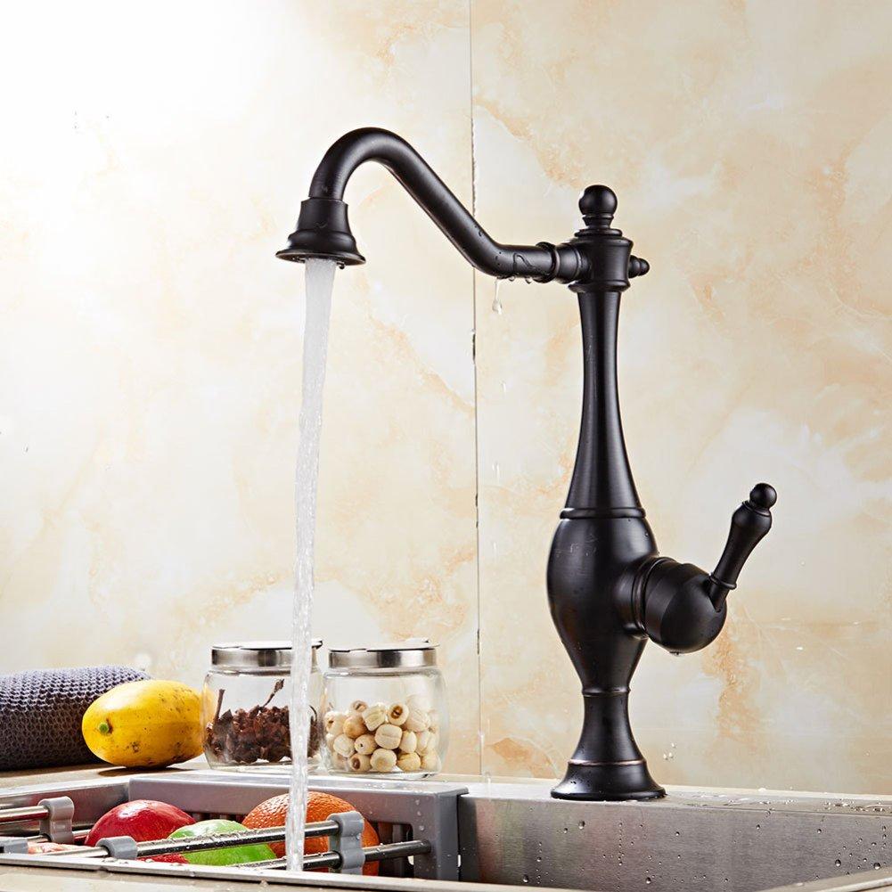 TT Wasserhahn europäischen Stil Küchenarmatur Vintage heiße und kalte Wasserhahn Spüle Drehhahn Vintage Waschbecken Wasserhahn