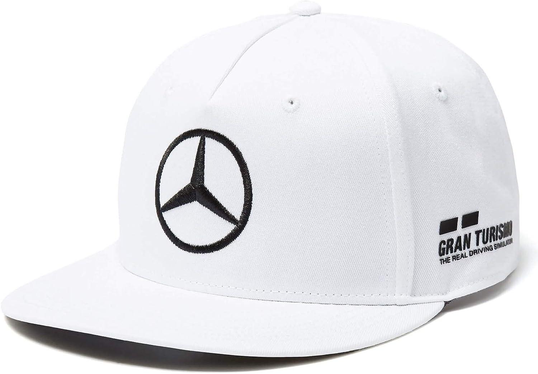 Mercedes Amg Petronas Lewis Hamilton Flat Cap Formel 1 F1 Motorsport 2018 Bekleidung