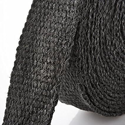 Arlows 15m Keramik Hitzeschutzband Schwarz Breite: 50mm