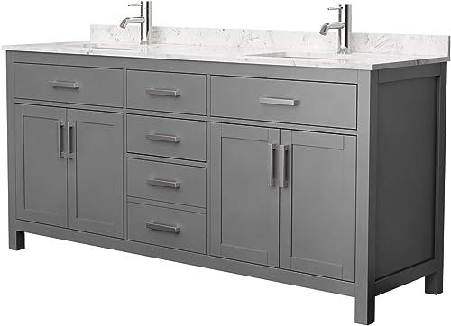 Beckett 72 Inch Double Bathroom Vanity