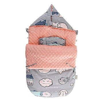 IPOTCH Bebé Infantil Recién Nacido Saco de Dormir de Dibujos Animados Manta Caliente - C: Amazon.es: Juguetes y juegos