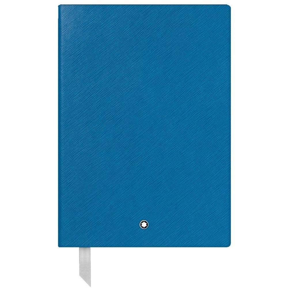 Montblanc Fine Stationary Unisex Turquoise Lined Leather Notebook Accessories 116516 by MONTBLANC