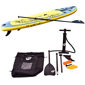 vengaconmigo Tabla de Surf Tabla de Paddle Tablas Hinchables de Paddle Surf Tabla de Surf Inflable para Adultos Incluida Remo Ajustable Bomba de Aire ...
