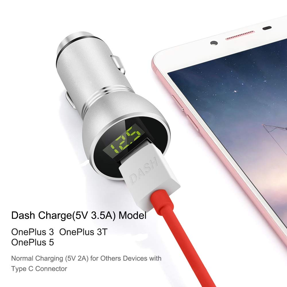 Amazon.com: COOYA Car Charger Dash Charging Vehicle Charger ...