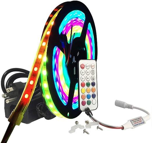 """Lake Boat Neon Light Kit 6pc 36/"""" Strip 6pc 10/"""" Strip Remote Waterproof"""