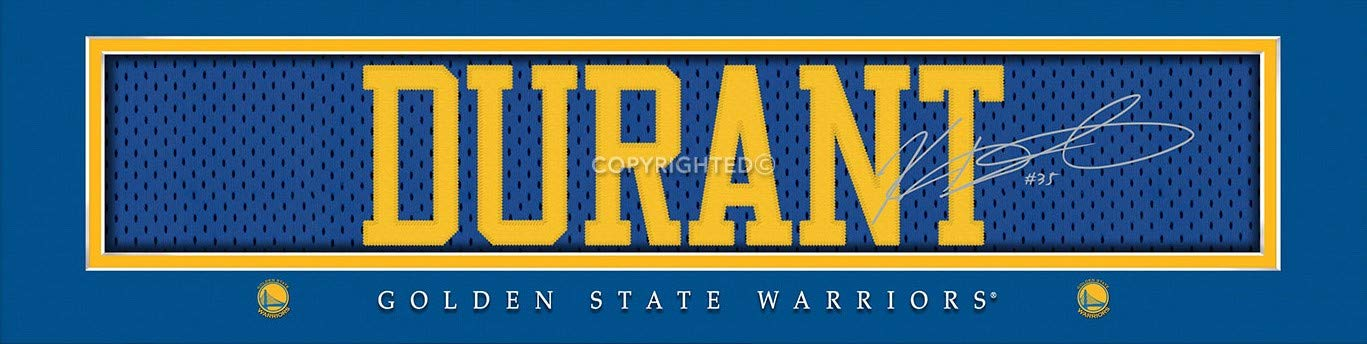 Prints Charming Golden State Warriors Durant Unframed Poster 22x6 Inches
