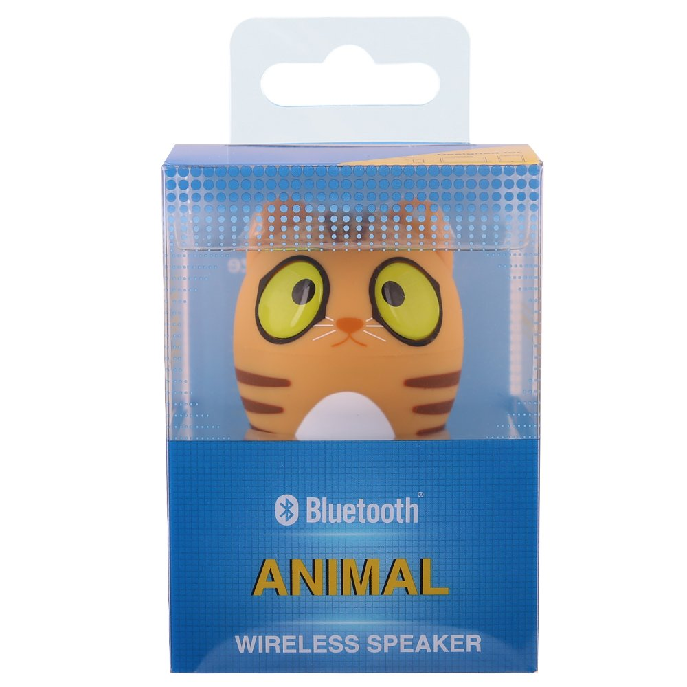 HUKOER Altavoz Estéro Inalámbrico/ Portátil/ Ultra-Mini/ Bluetooth 4.1/ Control total del teléfono: Micrófono, Música, Llamadas, Cámara de fotos ...