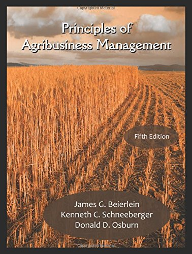Prin.Of Agribusiness Management