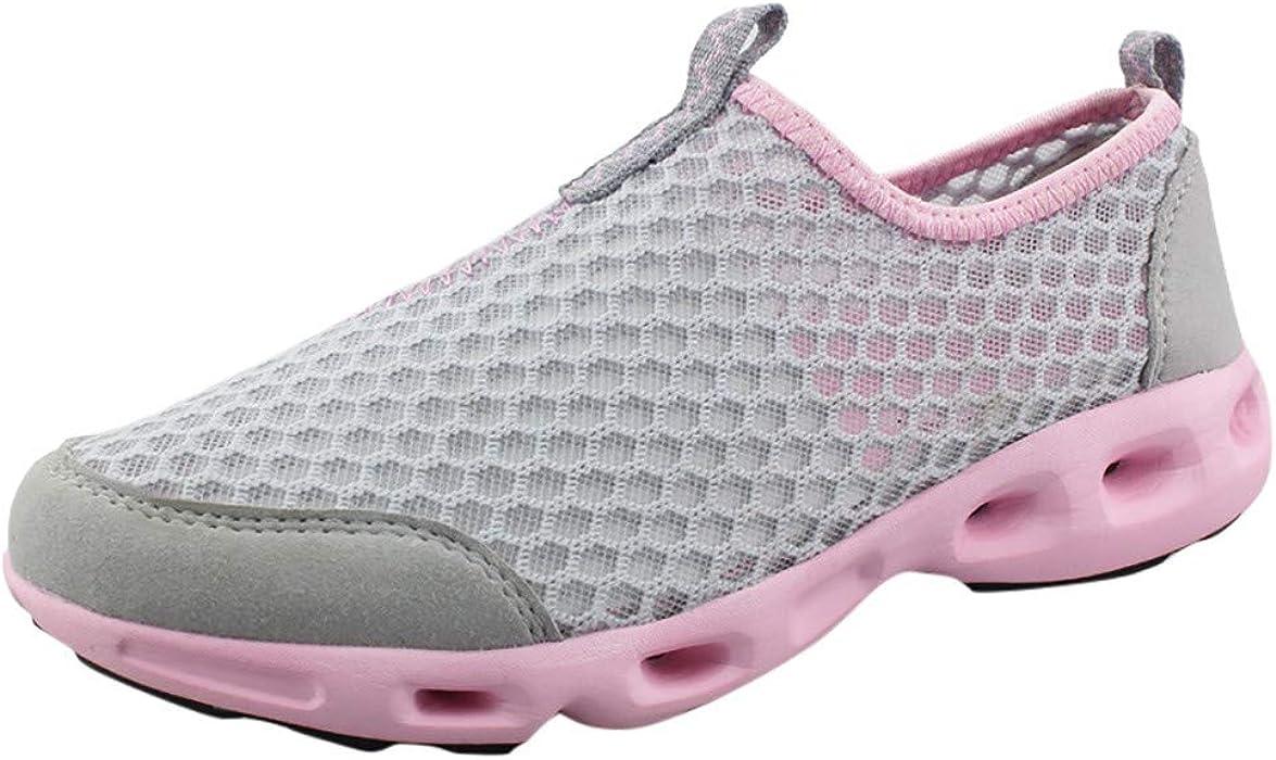 ec705c3302fe Amazon.com: Sunskyi Women Water Walking Shoes,Summer Female Mesh ...