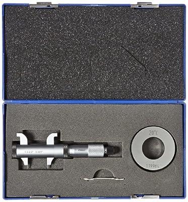 "Fowler Xtra-Range Inside Micrometer, 0.2-2.2"" Measuring Range, 0.001"" Graduation, +/- 0.0002"" Accuracy"