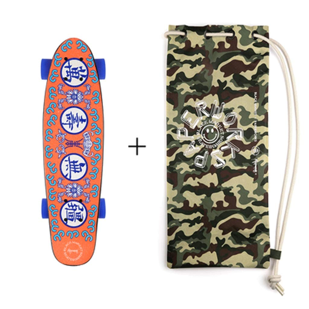 最新情報 初心者大人の男の子と女の子スケートボードショートボード小さな魚ボードアダルトストリートスキルスケートボード (色 and : : Skateboard) B07KW2QDHV Skateboard Skateboard and bag Skateboard and bag, ヒカタマチ:638f4310 --- a0267596.xsph.ru