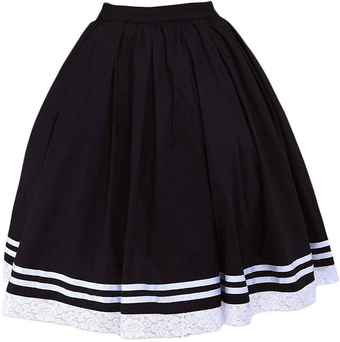 Antaina Negra Encaje Volantes Estudiante Girls Sailor Kawaii ...