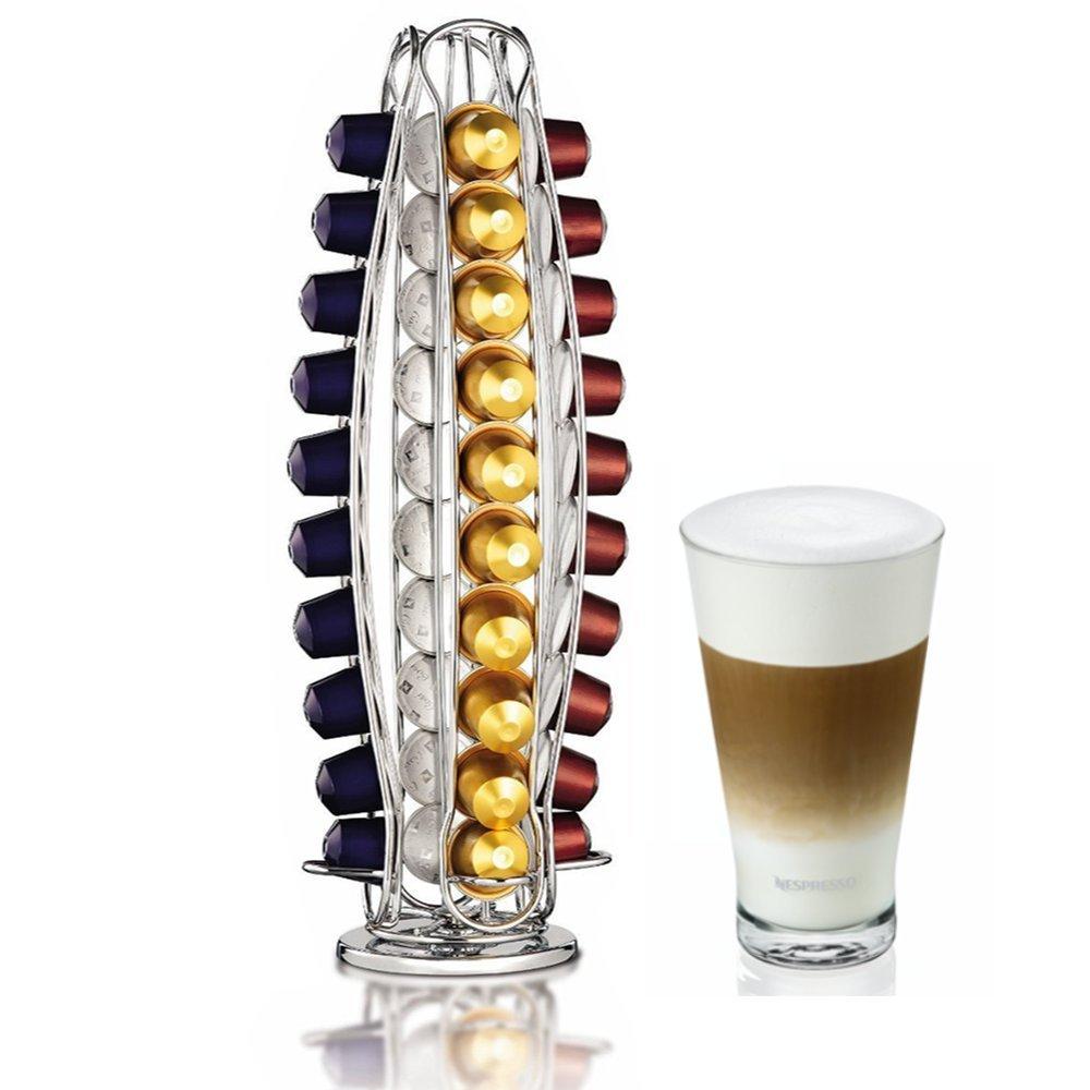 Home Treats Support capsules rotatif Nespresso 40/Capsules