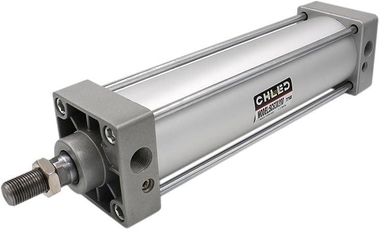 Heschen pneumatique Standard Cylindre SC 63 50/PT3//8/ports 63/mm al/ésage 50/mm Stroke double action