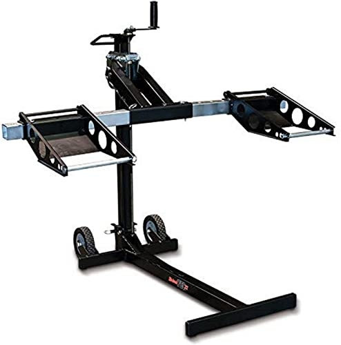 MoJack MJ750XT Riding Lawn Mower Lift, 750lb Capacity, Black