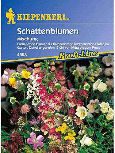 Schattenblumen-Mix  ein und mehrjährig Großpackung 100gr