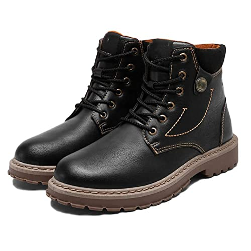 Doc Marten Boots Men Botas De Adulto Botas De Seguridad Classic Leather Botas De Otoño Y Invierno Tool Boots Retro High Help: Amazon.es: Zapatos y ...
