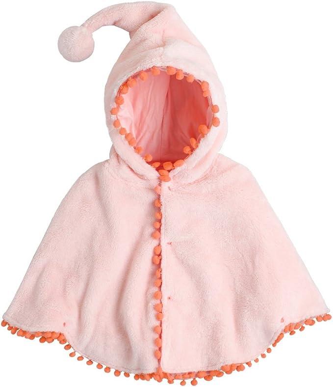 fairy baby Fata Baby Girls Cloak Mantella Neonato Toddler Cape Hood Poncho Cappotto Caldo