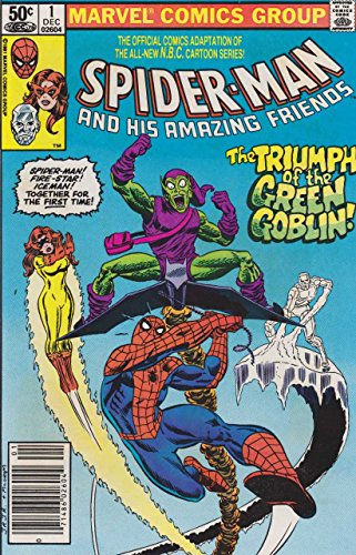 SPIDER-MAN And His Amazing FRIENDS #1 (1st Appearance FIRESTAR)