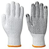 Pioneer V5060920-M Knitted Work Glove - Dots on Palm (Pack of 12), M