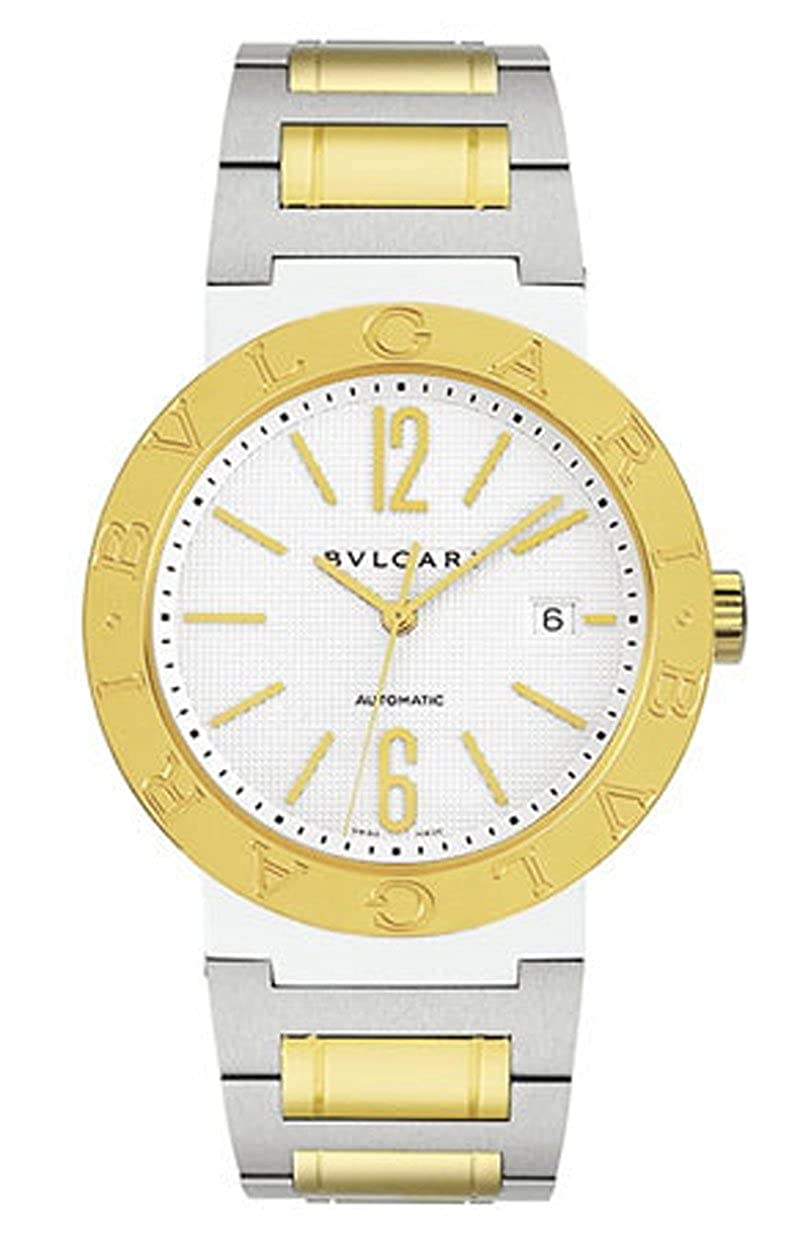 New Bvlgari Bulgari 18k Yellow Gold and Stainless Steel Automatic 38mm Watch BB38WSGDAUTO/N