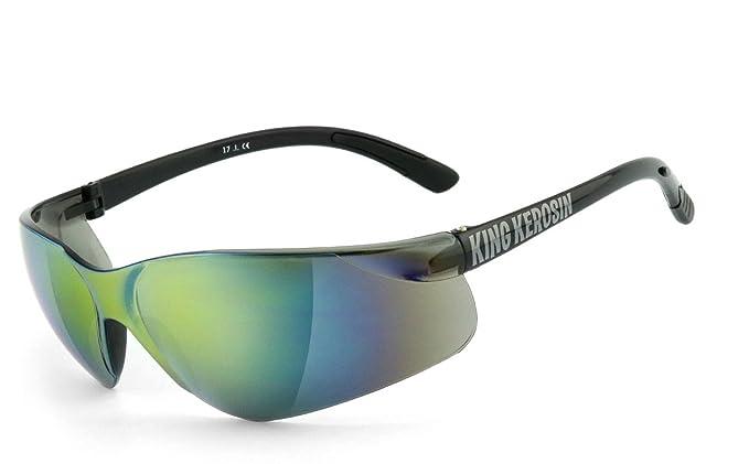 King Kerosin®: Bikerbrille, Motorradbrille, Sonnenbrille Wechselgläser - KK175