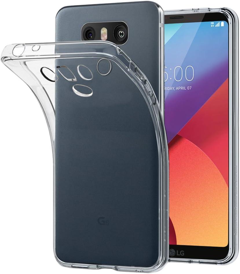 Transparent ebestStar G6 Dual Etui Housse Silicone Gel Anti-Choc Ultra Fine Invisible Coque LG G6 H870 Appareil: 148.9 x 71.9 x 7.9mm, 5.7