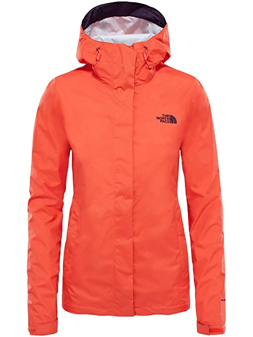 North Face W Venture 2 JKT Chaqueta, Mujer, Fire Brick Red, S