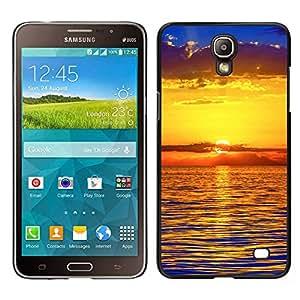 """For Samsung Galaxy Mega 2 , S-type Puesta de sol Mar Beautiful Nature 22"""" - Arte & diseño plástico duro Fundas Cover Cubre Hard Case Cover"""
