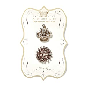 DEMDACO Seasons Jeweled Crown Magnet Set