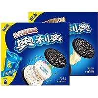 奥利奥(Oreo) 亿滋 奥利奥夹心饼干缤纷双果 生日蛋糕味388g*2盒