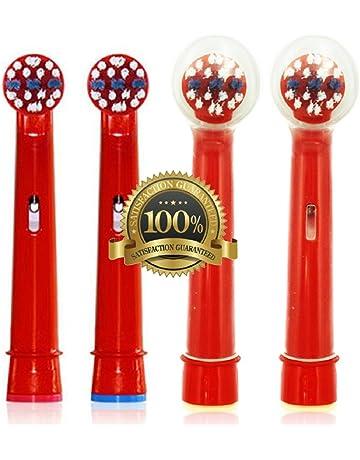 Dr. kao® - Pack de 4 cabezales para cepillo de dientes eléctrico con 2