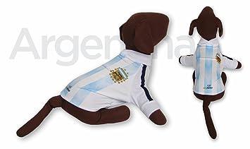 Argentina DOG T-Shirt Worldcup Shirt camisetas remeras para perros selecciones futbol soccer (XS