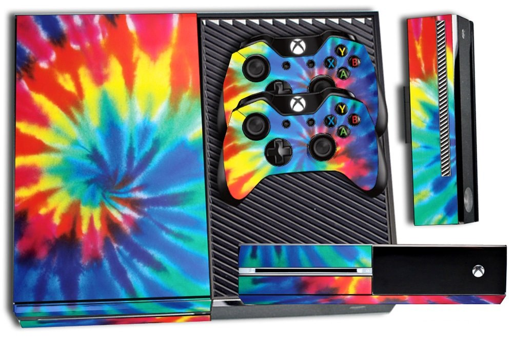 247 Skins Graphics kit Sticker Decal Compatible with Xbox One and Wireless Controllers - Trippy