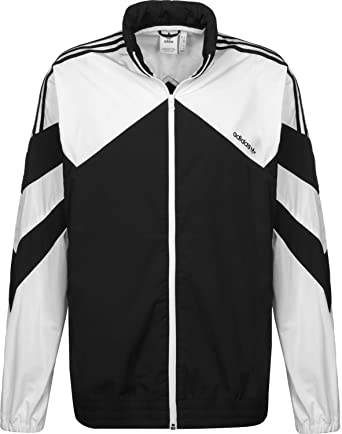 adidas Originals Palmeston Wb Windproof Jacket Large Black/White at ...