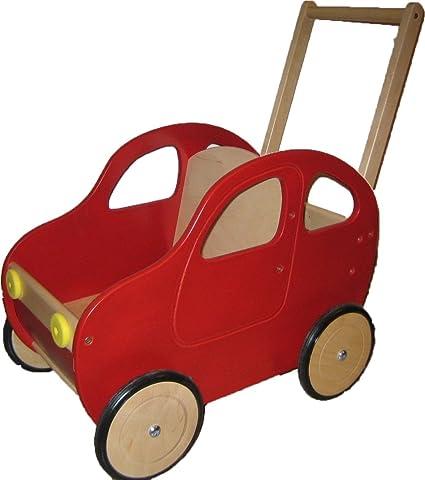 Amazon.es: Andador de coche rojo con freno 48 x 34 x 60 cm ...